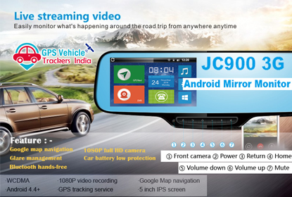 GPS Vehicle Tracker Syatem in Delhi, Bike Car Tracker